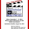 Don't Miss the Chance to Enter Your Film in this Year's ISFFH!
