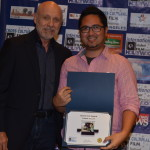 Hector Elizondo with Mark D. Manalo